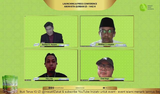 "Solusi Qurban di Tengah Pandemi, ""Abon Kita Qurban IZI"" (777457)"