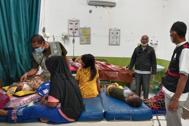 Korban Keracunan Gas di Aceh Timur 13 Orang, 531 Warga Mengungsi (69839)