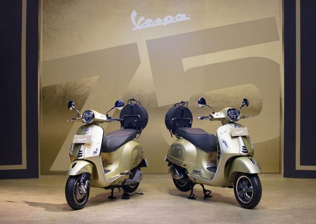 Vespa Primavera dan GTS 300 75 Th Anniversary Rilis di Indonesia, Unit Terbatas! (207966)