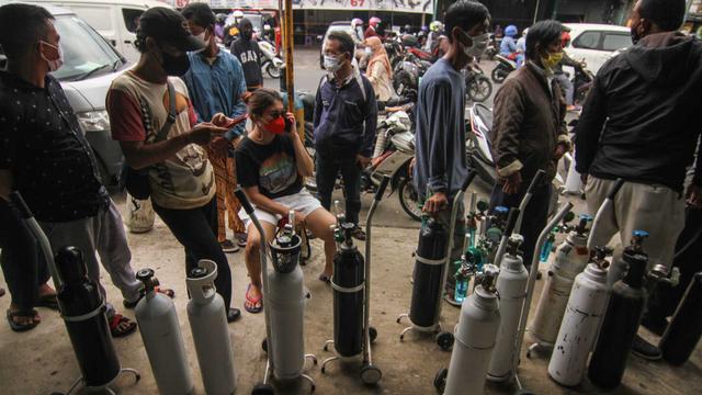Stok Oksigen di RS Kota Bogor Habis, Bima Arya Minta Tak Ada Penimbun (67411)