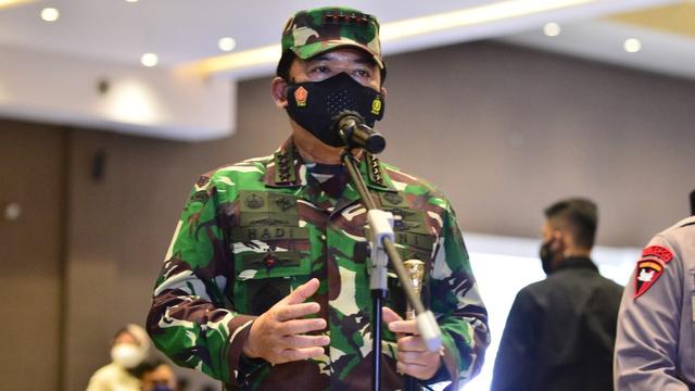 Panglima TNI Mutasi 136 Perwira: Laksda Nazali Jabat Danpuspom TNI (1257827)