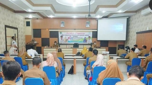 Bertekat Tingkatkan Kesetaraan Gender, Pemerintah Kabupaten Inhil Kerahkan Lurah (2)