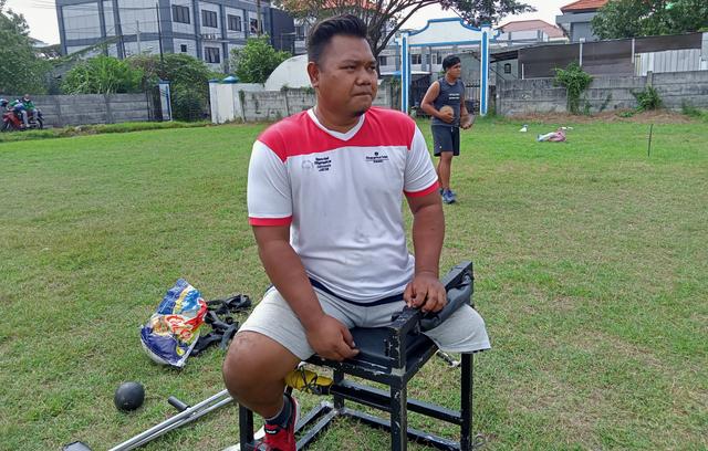 Kisah Syaiful, Kehilangan Satu Kaki Kini Jadi Atlet Lempar Cakram (360724)