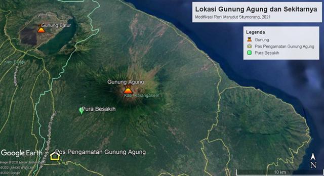 Hubungan Gunung Api Agung dan Pura Besakih dari Waktu ke Waktu (139028)
