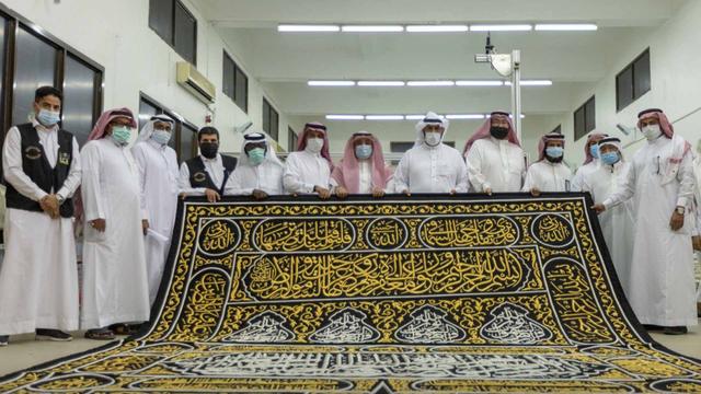 Ka'bah dan Kiswah Barunya Senilai Rp 73 Miliar pada Musim Haji 2021 (25916)