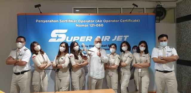 Super Air Jet Terbang Perdana di 6 Rute: Soetta hingga Kualanamu (42677)