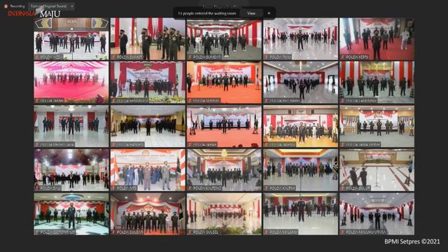 Saat Kapolres Mimika Bicara Keamanan di Hadapan Jokowi: Banyak Warga Tolak KKB (39083)