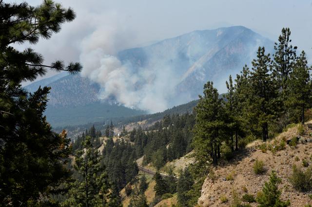 Foto: Dahsyatnya Kebakaran di Hutan Lytton, Kanada, Akibat Gelombang Panas (66555)