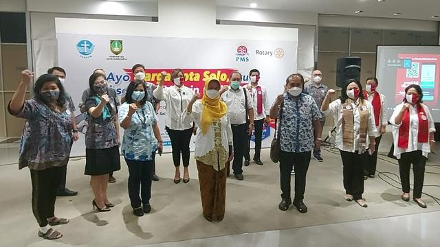 Percepat Vaksinasi COVID-19, Kota Solo Gandeng Sejumlah Organisasi (314354)
