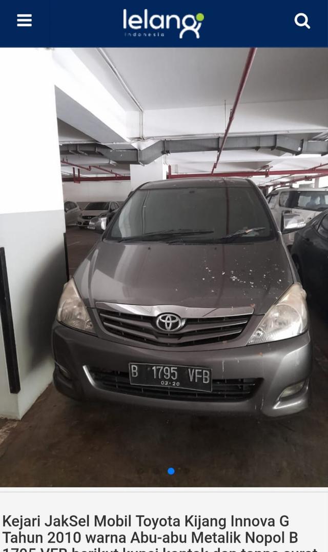 Lelang Toyota Innova Mulai Rp 43 Jutaan, Tertarik? (497395)