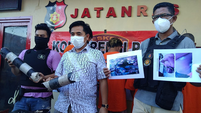 Pelaku Pengeroyokan Pria di SPBU Bandar Lampung Terancam 15 Tahun Penjara (3928)