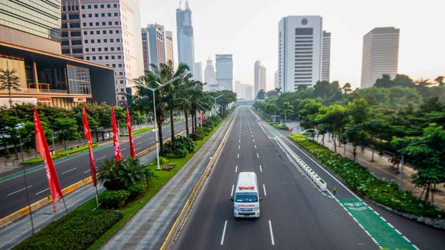 Selama PPKM Darurat, Kendaraan Bermotor Ini Boleh Melintas di Jalur Transjakarta (693)