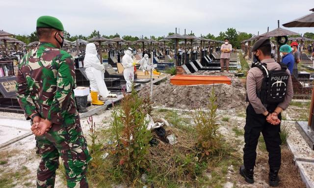 Sepekan Terakhir, Angka Kematian Akibat COVID-19 di Kalteng Tambah 55 Orang (262713)