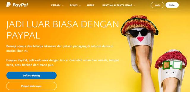 Cara Daftar PayPal untuk Transaksi Online Lintas Negara (800318)