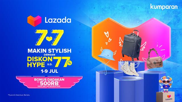 Tips Berburu Barang Impian di Lazada 7.7 Mid Year Sale (49569)
