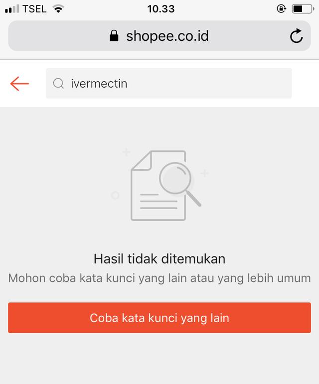 Harganya Sempat Melonjak, Ivermectin Kini Menghilang di E-commerce (109675)