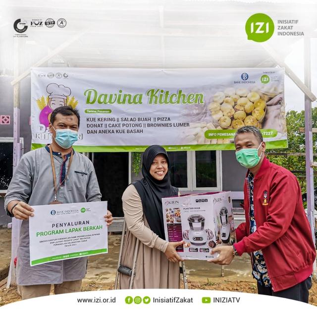 Bank Indonesia & IZI Kaltim Wujudkan Dapur Produksi Bagi Penyandang Disabilitas (323666)