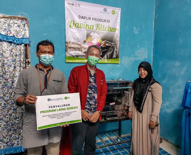 Bank Indonesia & IZI Kaltim Wujudkan Dapur Produksi Bagi Penyandang Disabilitas (323667)