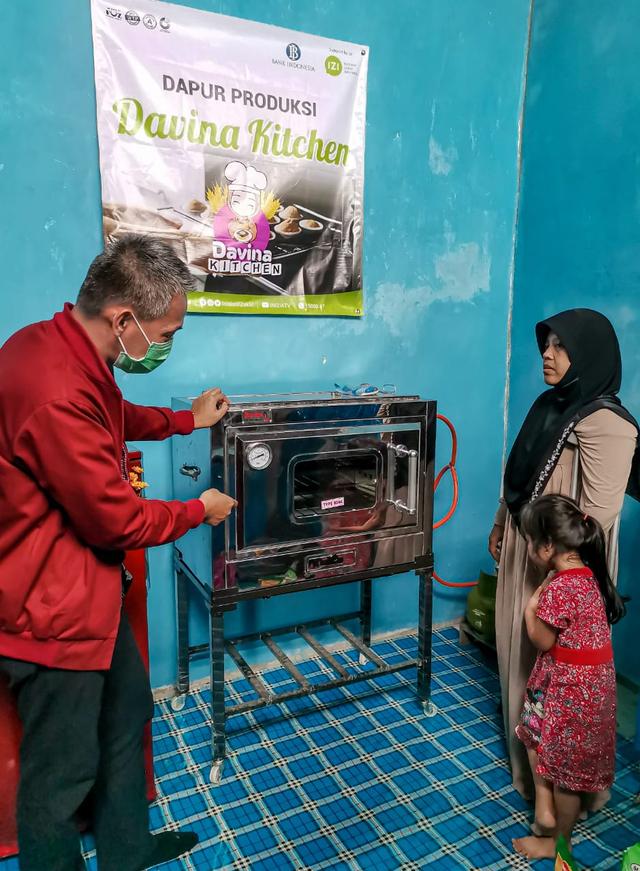 Bank Indonesia & IZI Kaltim Wujudkan Dapur Produksi Bagi Penyandang Disabilitas (323668)