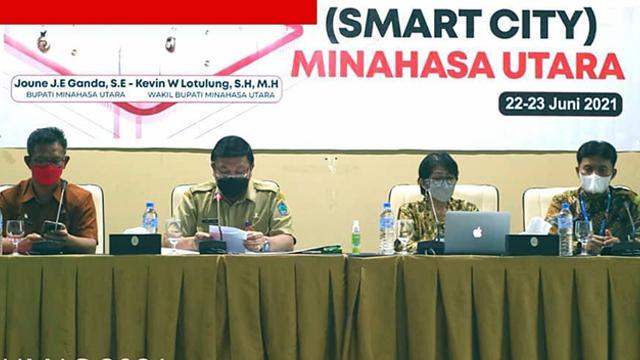 Kabupaten Minut Gandeng Kemenkominfo Susun Masterplan Smart City (27559)
