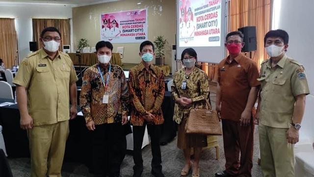 Kabupaten Minut Gandeng Kemenkominfo Susun Masterplan Smart City (27562)