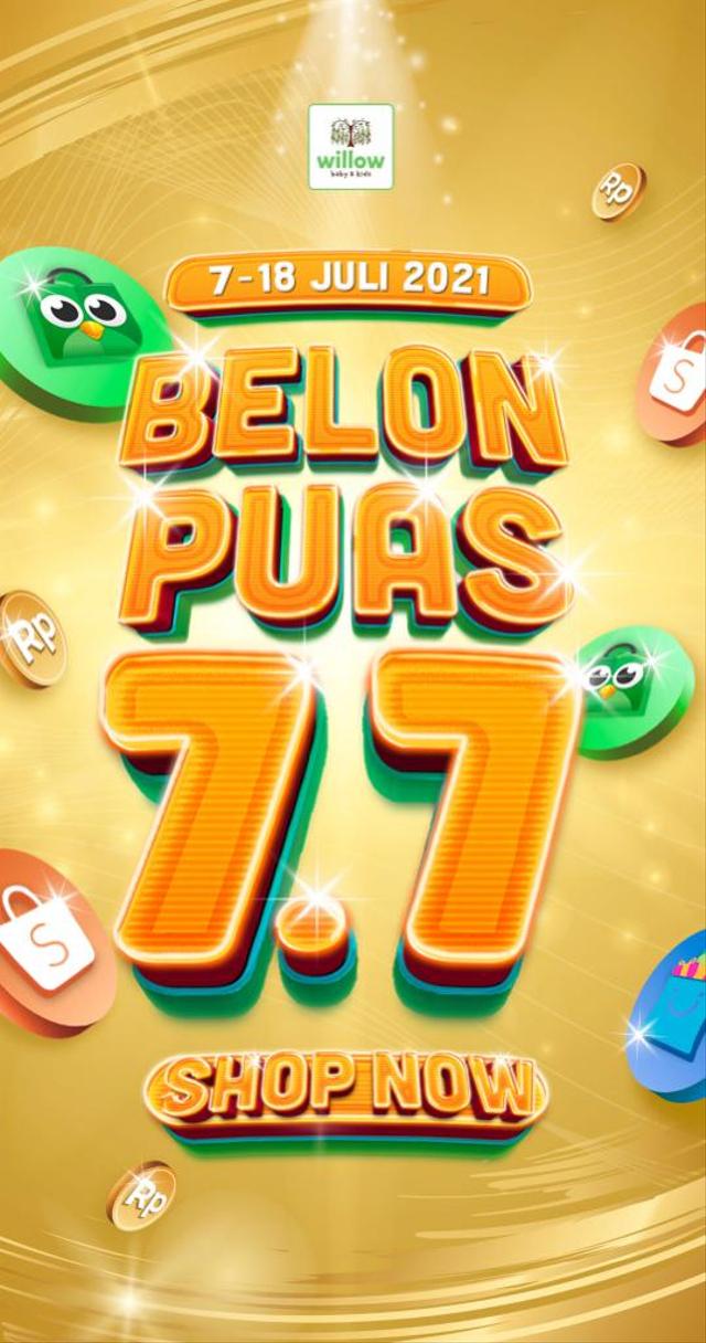 Siap-siap Belanja Online, Besok Ada 'Belon Puas 7.7' di Willow Baby Shop! (670993)
