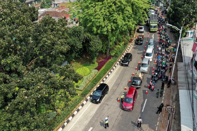 10 Hari PPKM Darurat, Mobilitas Masyarakat di Jakarta Baru Menurun 21,3% (125833)