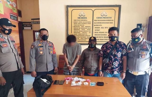 Ditemukan di Ban Serep Mobil, Sabu dari Palu Gagal Diselundupkan ke Banggai (401727)
