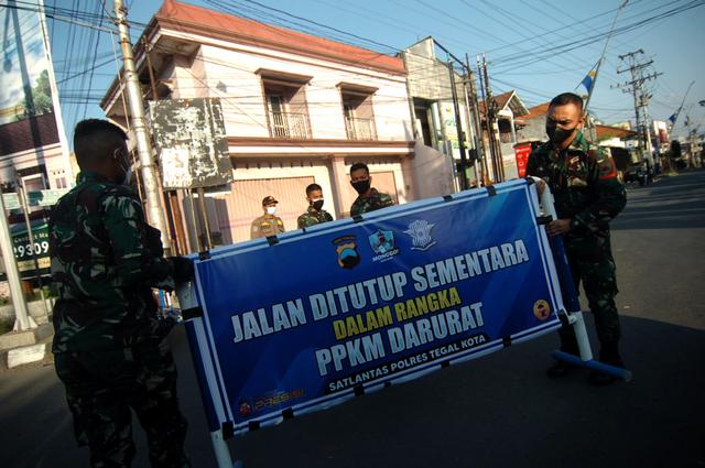 Ada Penyekatan 3 Jalan Arteri Perbatasan Jawa Tengah di Masa Idul Adha (95169)