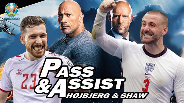 Euro 2020: Sekuel Pass & Assist Højbjerg & Shaw (8242)