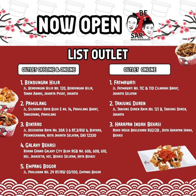Suguhkan Menu Jepang, Bensu Bersaudara Buka 8 Outlet BESAR Food di Jabodetabek (369729)