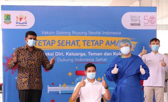 Nestlé Gelar Vaksinasi Gotong Royong, 3.600 Karyawan Sudah Divaksin (410636)