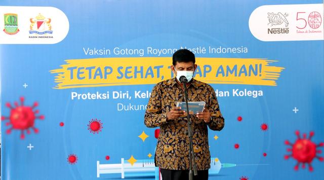 Nestlé Gelar Vaksinasi Gotong Royong, 3.600 Karyawan Sudah Divaksin (410637)