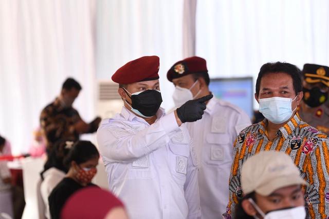 BIN Gelar Vaksinasi untuk Anak Usia 12-17 Tahun di Kembangan, Jakbar (65550)