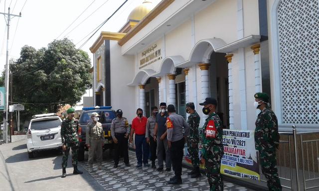 Selama PPKM Darurat, Sejumlah Masjid di Kabupaten Tegal Tak Gelar Salat Jumat (86103)