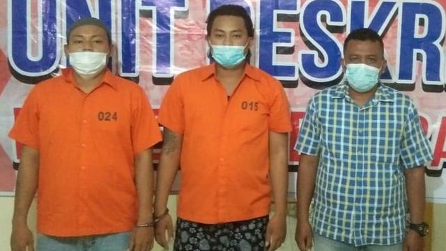 Tersinggung Ditatap, 2 Pria di Medan Hajar Seorang Polisi (370438)