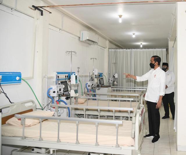 Jokowi Sebut Pemulihan Ekonomi Mustahil Bila Pandemi COVID-19 Belum Berakhir (90438)