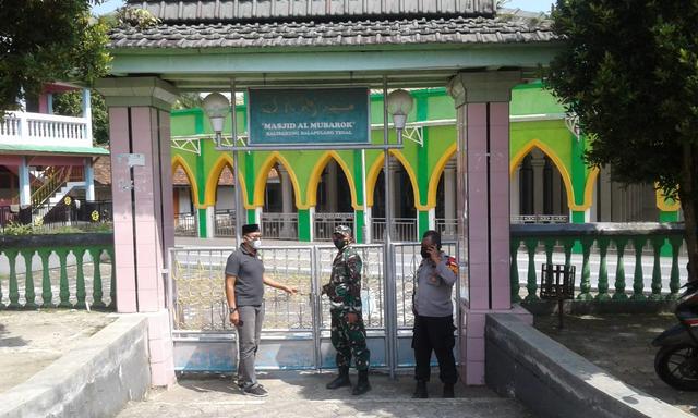 Wayah PPKM Darurat, Masjid-masjid nang Kabupaten Tegal Ora Nganakna Solat Jumat  (167073)