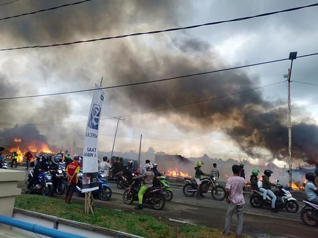 Terjadi Kebakaran Hebat di Ogan Ilir, Sejumlah Rumah Hangus Terbakar (515297)