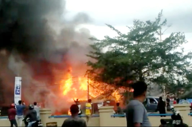 Terjadi Kebakaran Hebat di Ogan Ilir, Sejumlah Rumah Hangus Terbakar (515296)