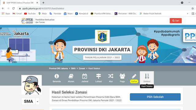 Minat Sekolah Negeri di Indonesia (39800)