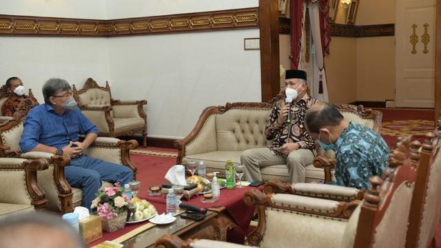 Gubernur Aceh dan Rektor Bahas Lahan Pembangunan Kampus II Unsyiah (87538)