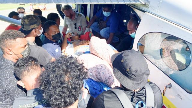 KKB Tendius Gwijangge Tembak Polisi di Seradala Yahukimo   (949303)