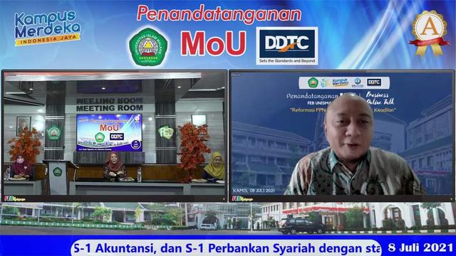 Gandeng DDTC, FEB Unisma Gelar Business Online Talk Reformasi PPN (1169464)