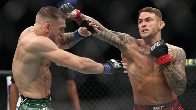 Dustin Poirier Lelang Pakaian Tarung dari Duel Lawan Conor McGregor di UFC 264 (93392)