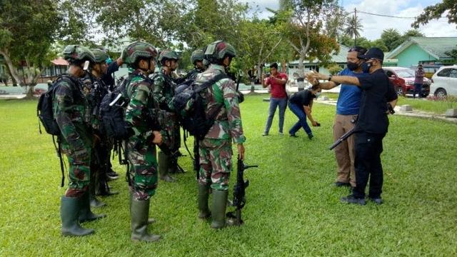 Operasi Senyap 5 Prajurit TNI Sergap Teroris MIT di Hutan Pukul 03.00 WITA (316778)