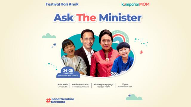 Yuk, Ajak Anak Bertanya Langsung pada Menteri di Festival Hari Anak (128083)