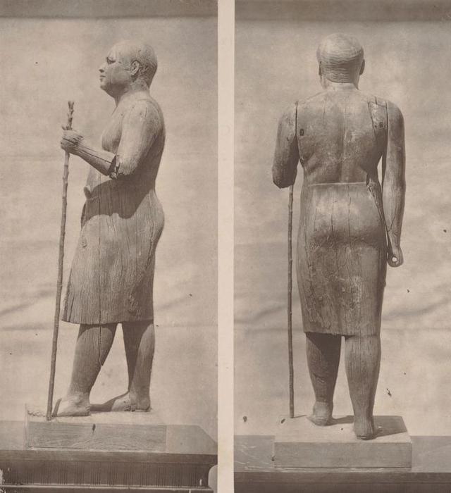 Misteri Patung Kayu Mesir Kuno dengan Mata Batu Kristal Berusia 4.500 Tahun (271091)