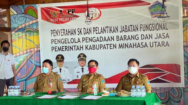 Minut Jadi Daerah Pertama Tuntaskan Rencana Aksi Pilot Project LKPP-KemenPANRB (24611)