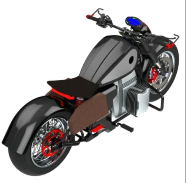 RKG-72, Calon Motor Listrik Bobber Ridwan Kamil Kolaborasi dengan GESITS (2117)